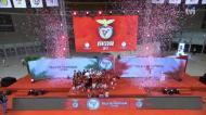 Benfica conquistou a Taça de Portugal de futsal