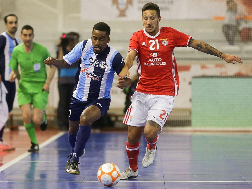 Futsal: Benfica renova com Miguel Ângelo