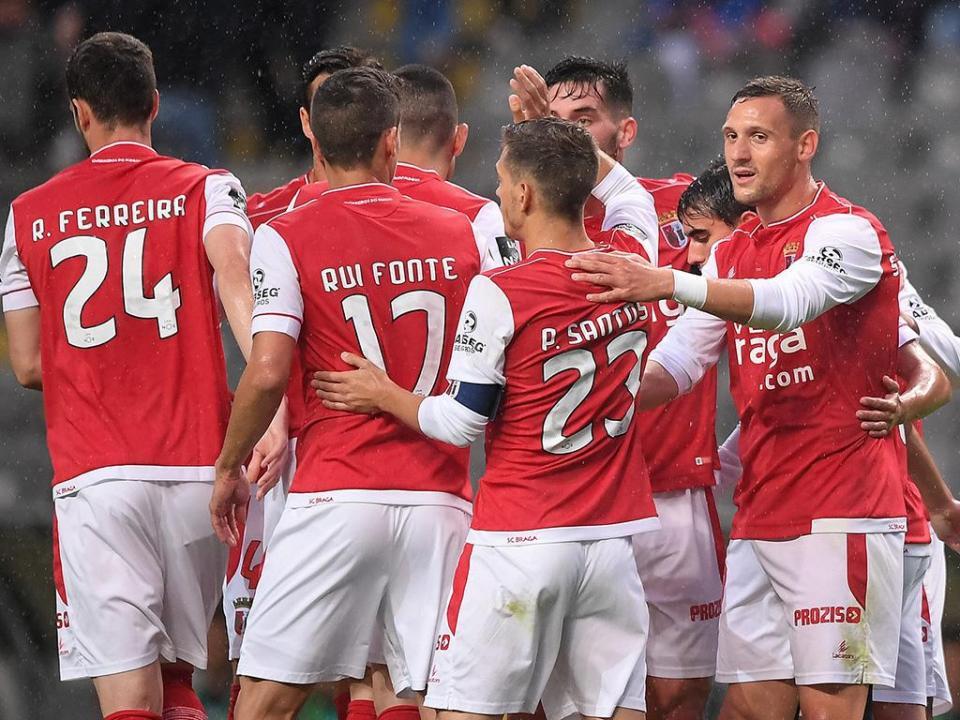 Sp. Braga-Nacional, 4-0 (resultado final)