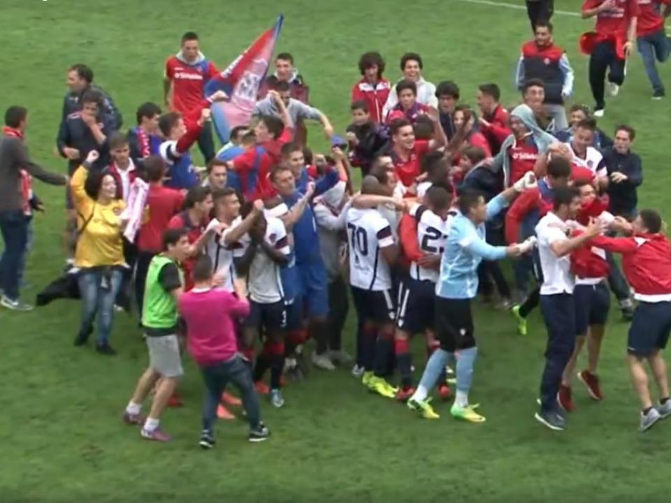 VÍDEO: Salgueiros venceu mas a festa foi da Oliveirense