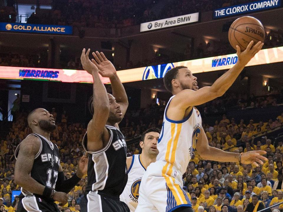 NBA: Warriors atropelam Spurs e colocam final do Oeste em 2-0