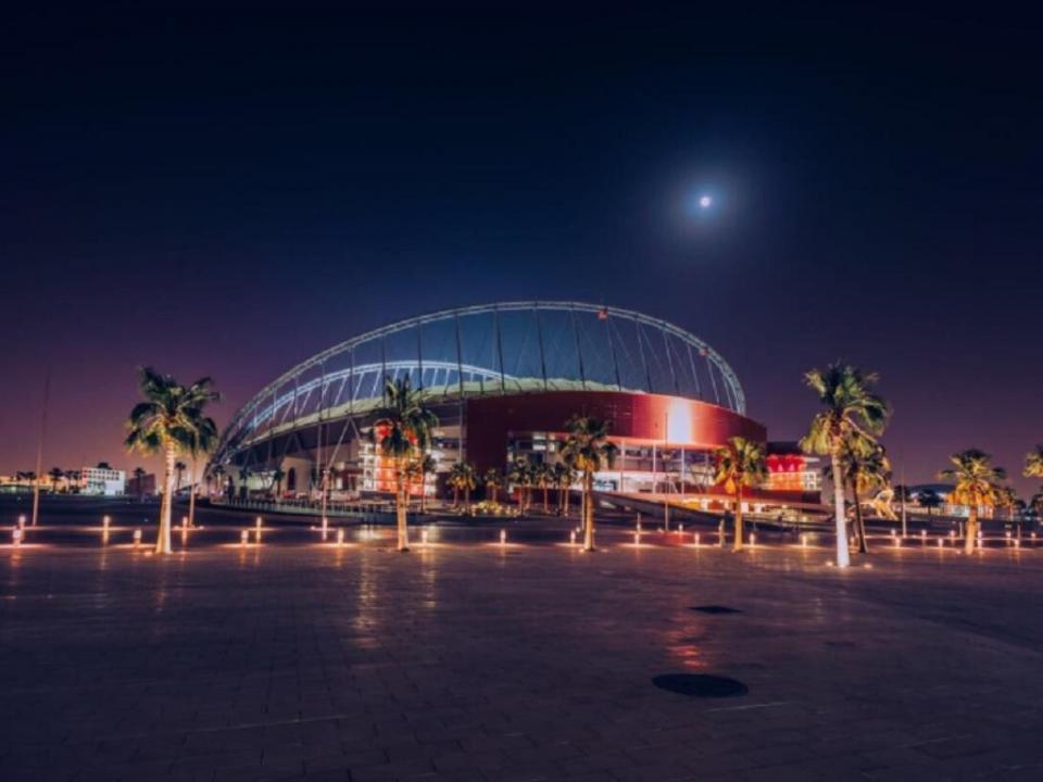 VÍDEO: este é o primeiro estádio finalizado para o Mundial 2022