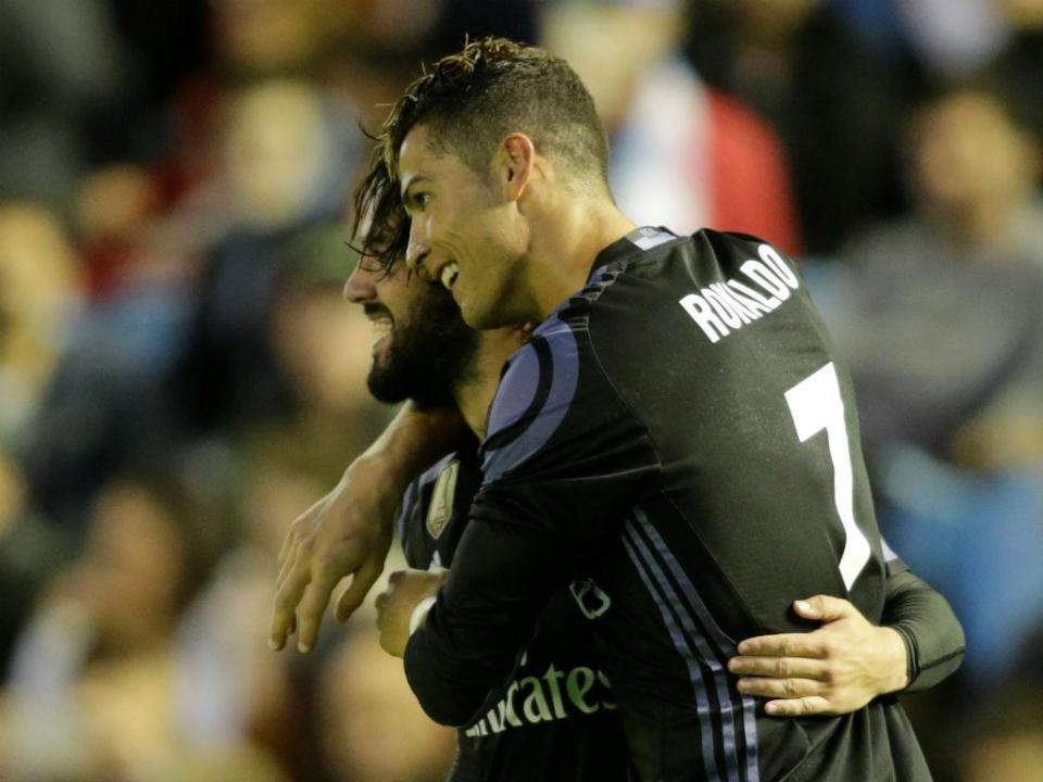 Onze Liga espanhola: Ronaldo e mais três merengues nas escolhas da UEFA