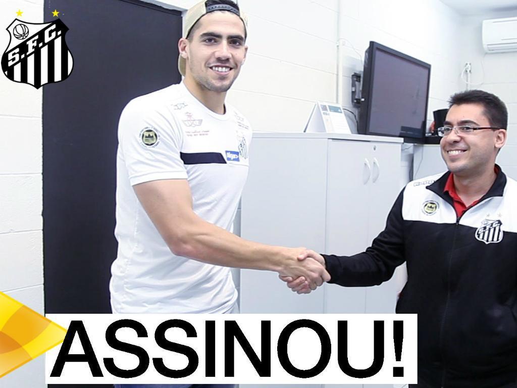 Santos contratou jogador indicado por um empregado de mesa