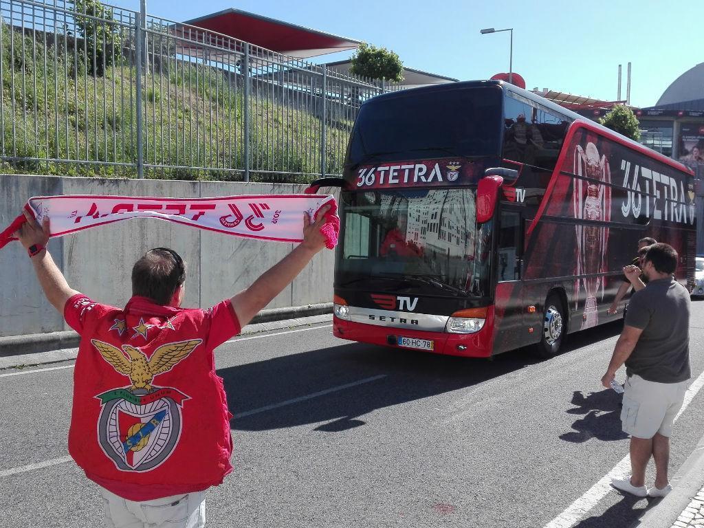 Depois da Feira, Benfica só tem viagens de curta distância