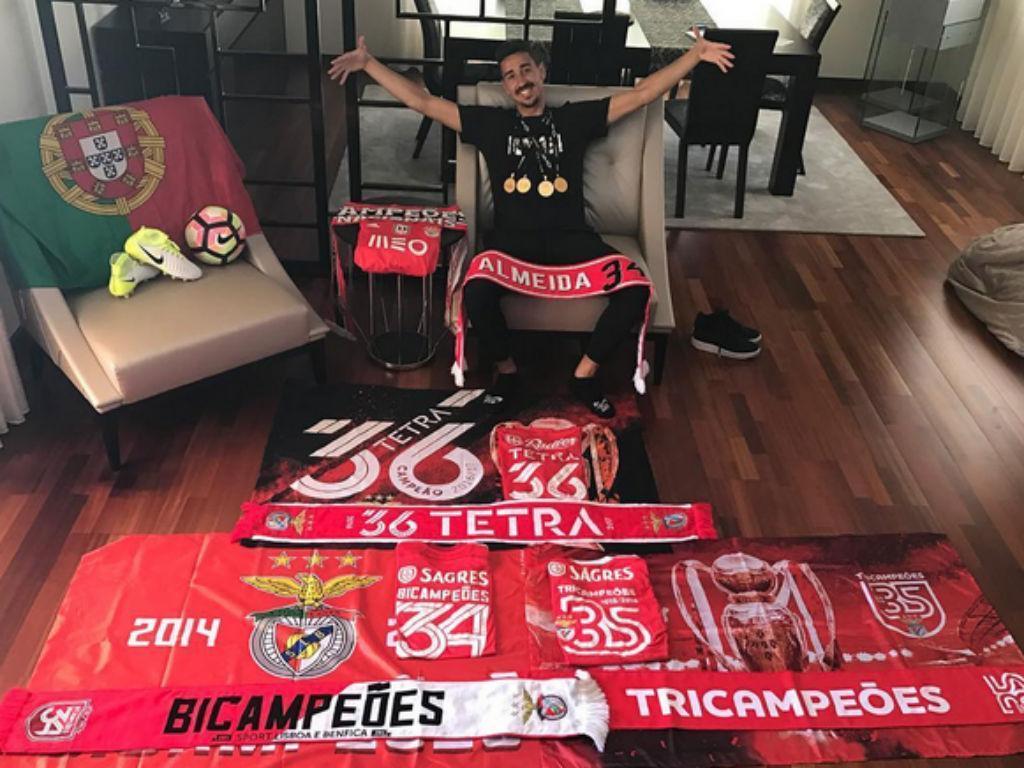 André Almeida: «Sou do Benfica e isso me envaidece»