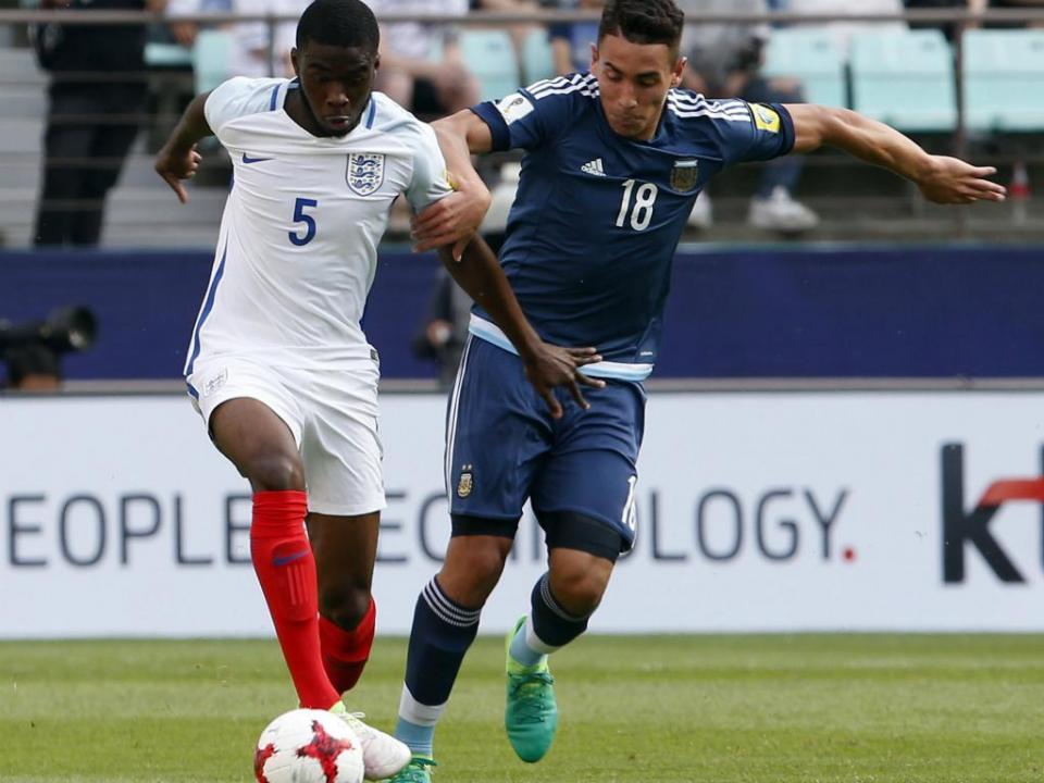 Mundial Sub-20: Argentina eliminada, Arábia Saudita em frente