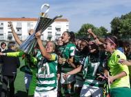 Futebol feminino: Boavista-Sporting (Lusa)