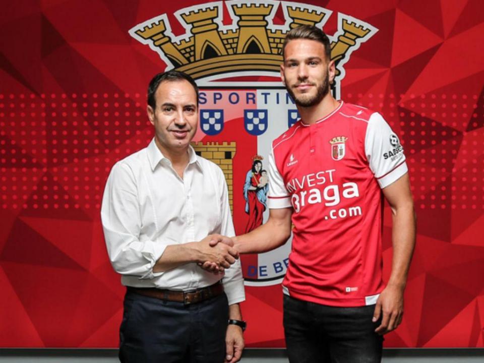 OFICIAL: Sequeira é reforço do Sp. Braga