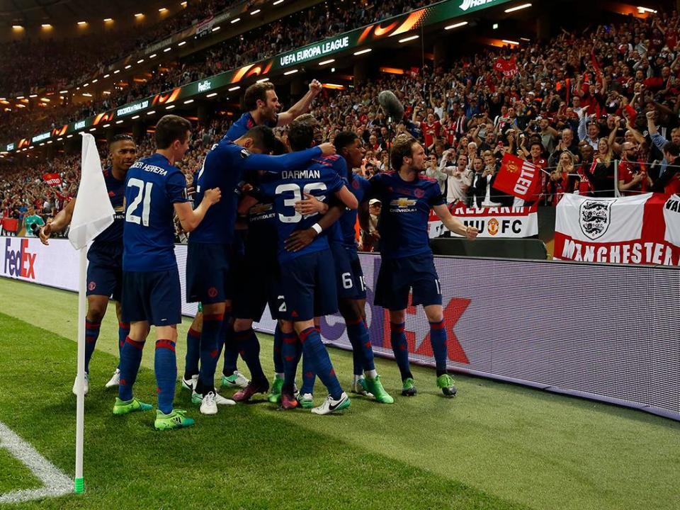 A mensagem emocionada de Herrera nos festejos da Liga Europa