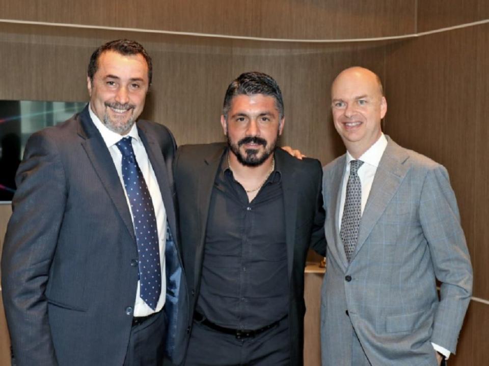 Milan oficializa regresso de Gennaro Gattuso