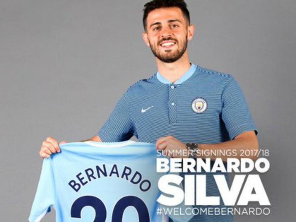 OFICIAL: Bernardo Silva no Manchester City