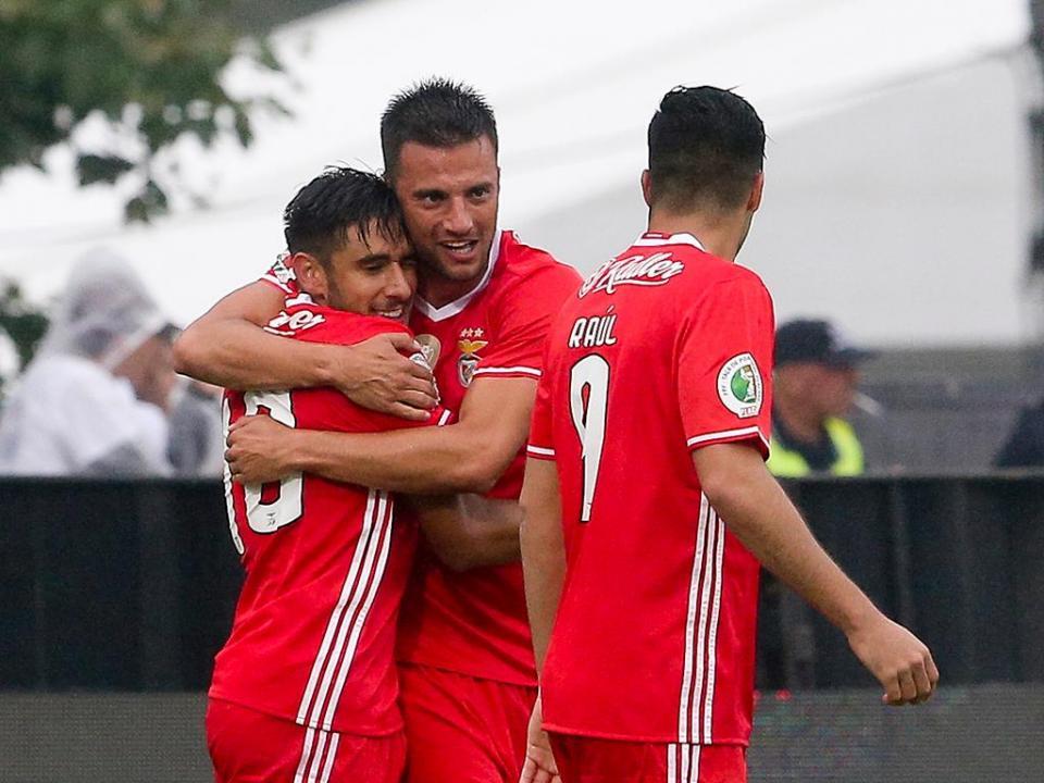 TP: Benfica-V. Guimarães, 2-1 (destaques das águias)