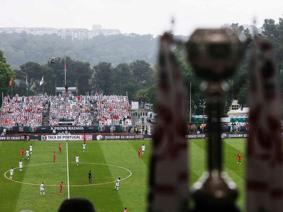 Taça de Portugal: todos os jogos da 3.ª eliminatória