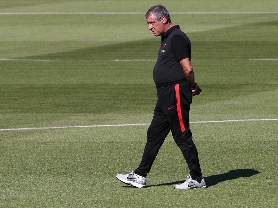 Seleção: último treino na Cidade do Futebol já com 23 jogadores