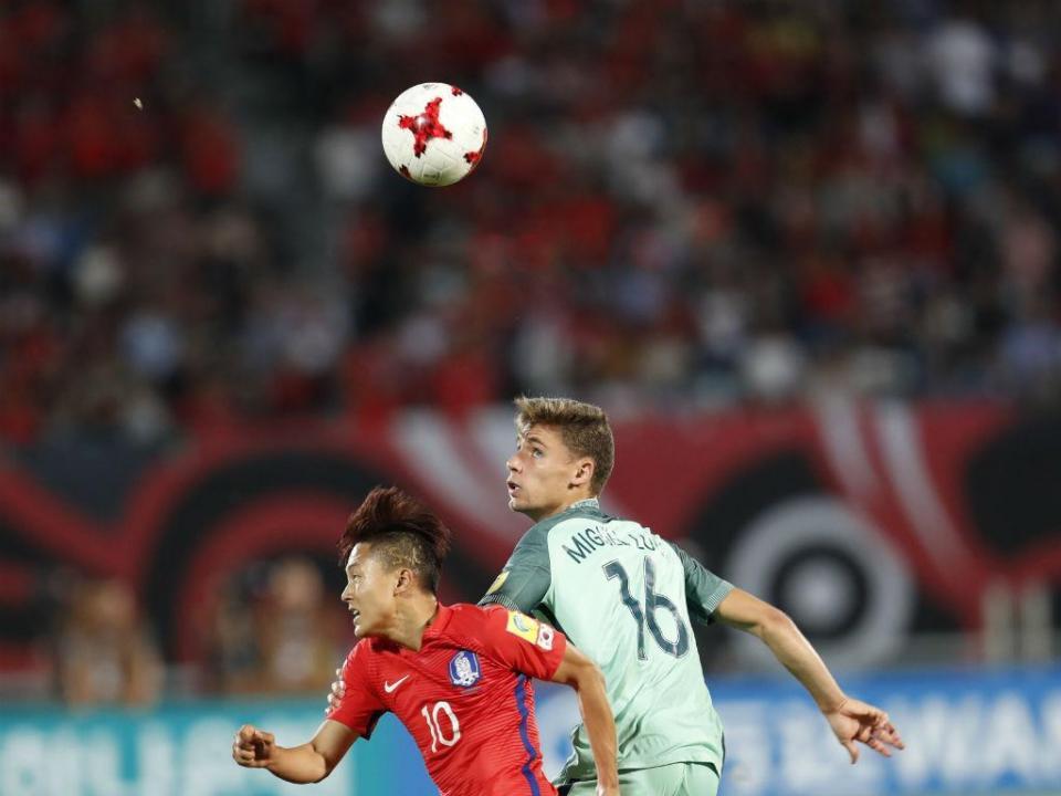 A imagem que é exemplo de fair-play no Portugal-Coreia