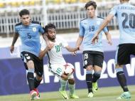 Mundial: Uruguai vence Arábia Saudita e defronta Portugal