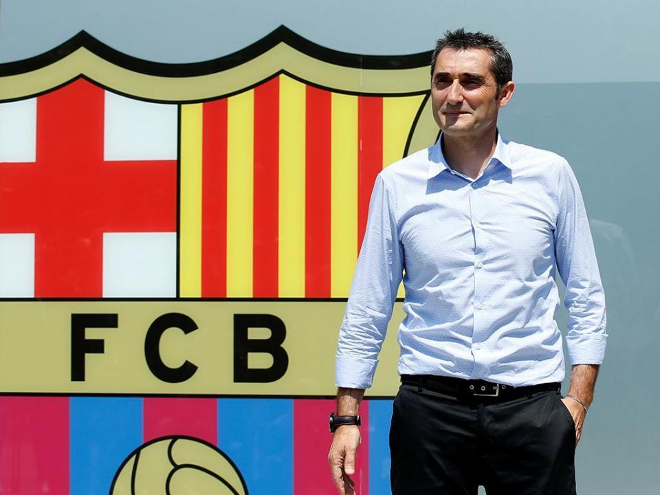 Valverde: «O Barcelona é um desafio apaixonante»