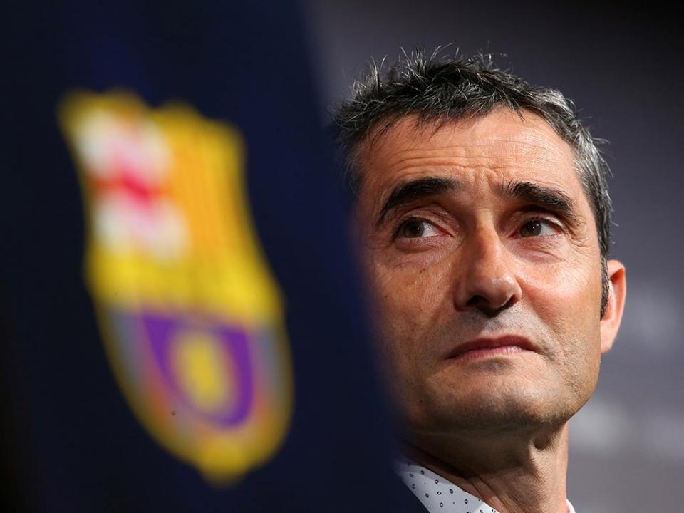 Valverde elege lateral direito do Barça como o melhor do Mundo