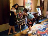 Messi na China para apresentar parque temático