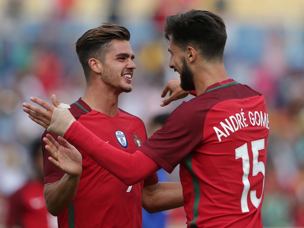 André Silva afirma que CR7 está com a cabeça na seleção portuguesa
