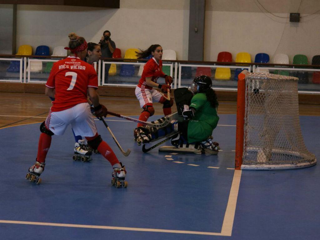 Benfica na final da Liga Europeia feminina de hóquei patins