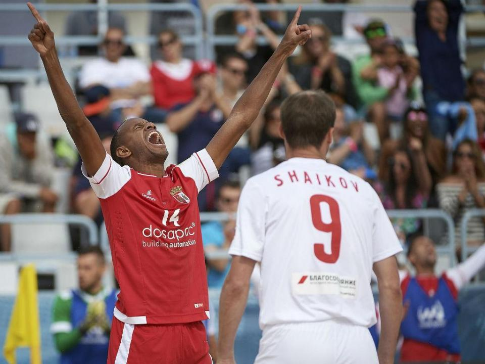 Futebol Praia: Sp. Braga na final do Mundialito