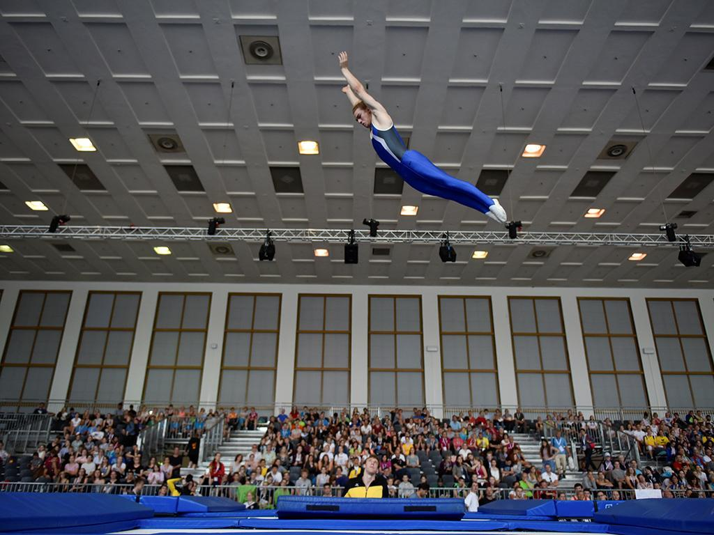 Portugal conquista três medalhas na ginástica de trampolim