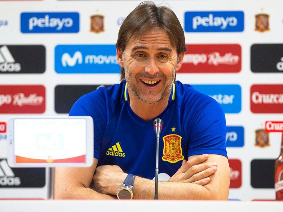 Lopetegui acredita que terá Carvajal no jogo contra Portugal