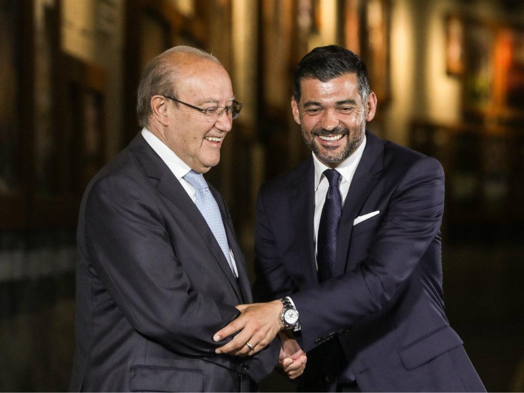 Pinto da Costa: «Se Marcano for parar ao Benfica, o que posso fazer?»