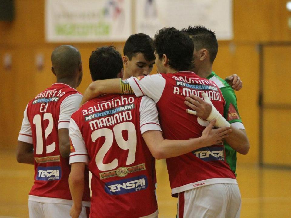 Futsal: Sp. Braga pela primeira vez na final da Taça da Liga