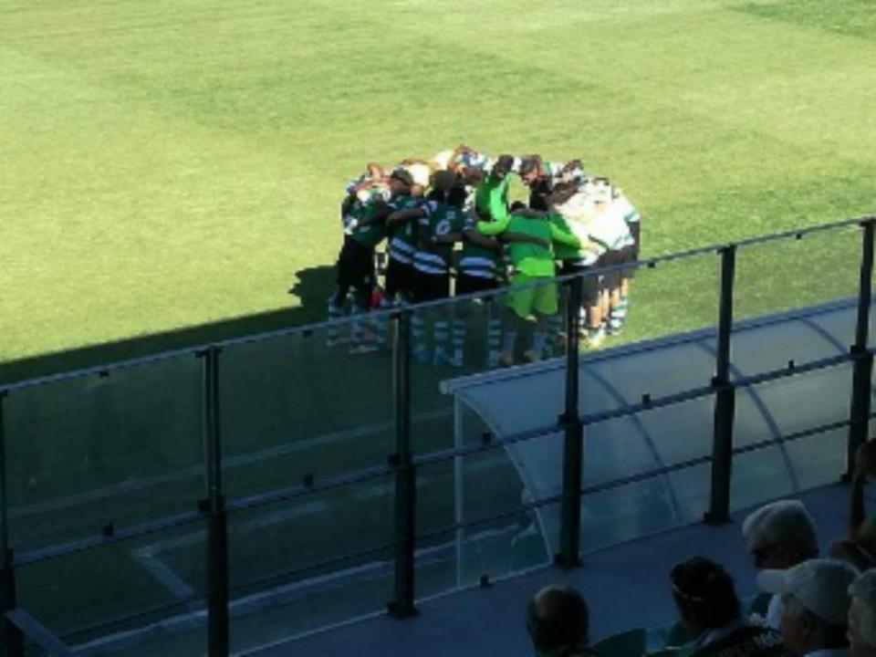 Juvenis: Sporting vence Sintrense e foge ao Benfica