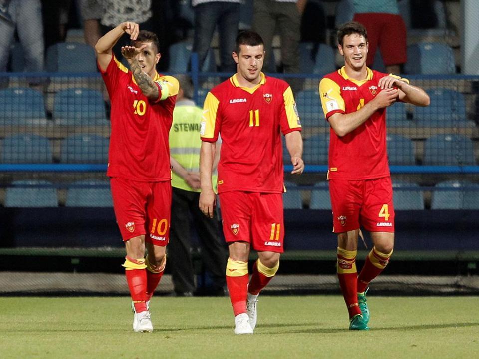 Jogador do Famalicão chamado à seleção de Montenegro