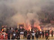 Incidentes na decisão da Liga grega de basquetebol