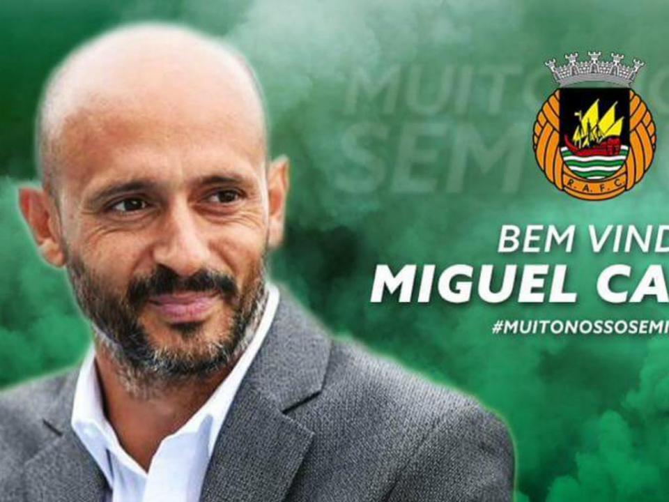 Miguel Cardoso no Rio Ave: «Discutiremos coisas interessantes»