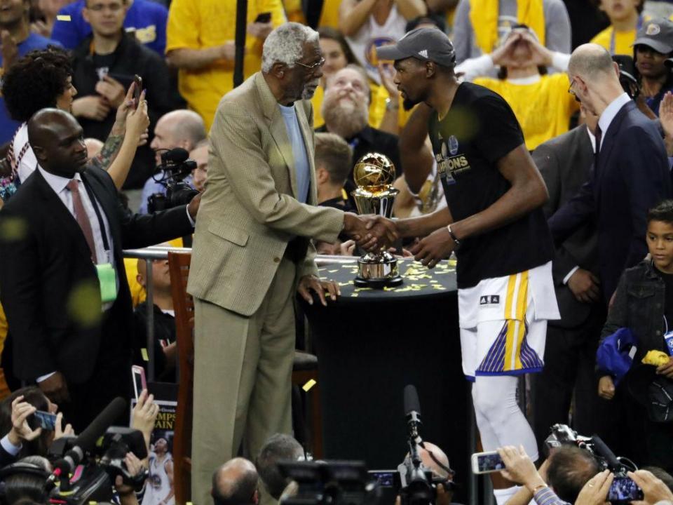 Kevin Durant eleito MVP das finais da NBA