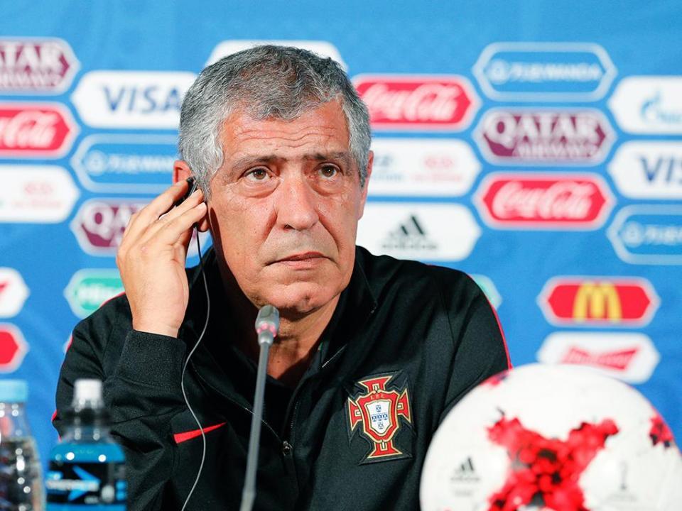 Santos: «O México fez um bom jogo, mais conseguido do que o nosso»