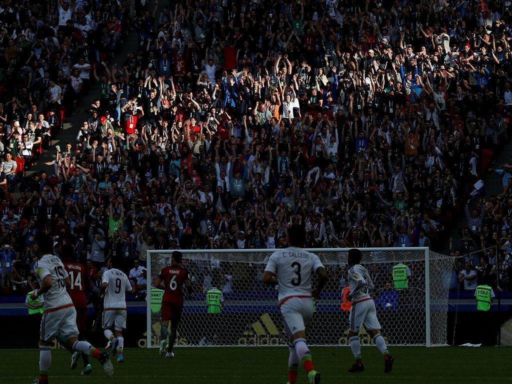 FIFA adverte México por cânticos discriminatórios no jogo com Portugal