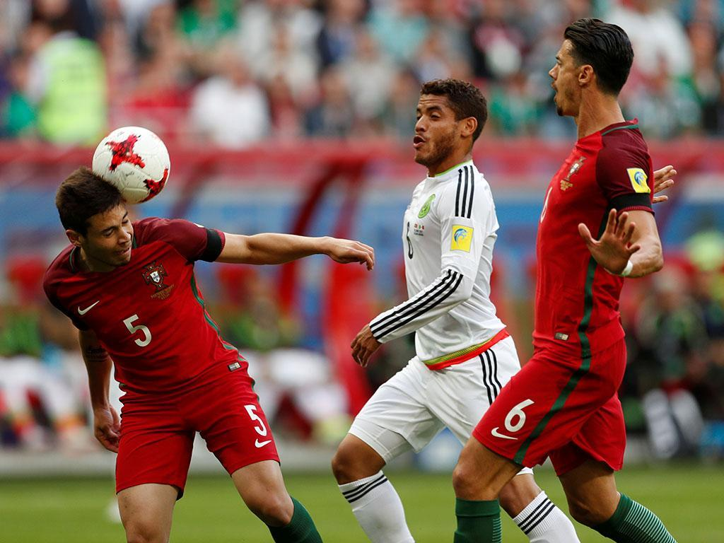 TC: Portugal-México, 2-2 (resultado final)