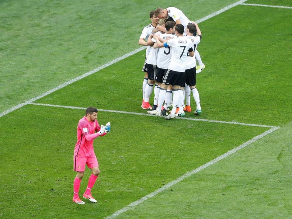 Taça Confederações: Austrália-Alemanha, 2-3 (crónica)