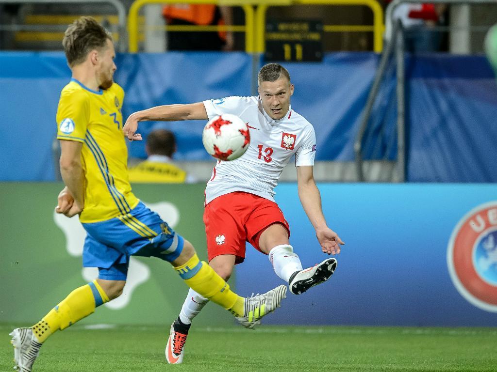 Euro sub-21: Polónia de Dawidowicz (Benfica) empata com Suécia