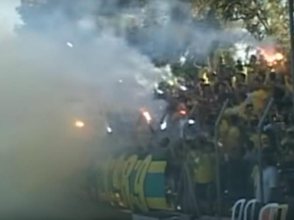 VÍDEO: euforia num treino do AEL de Bruno Baltazar