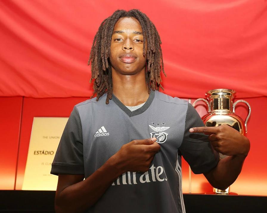 Benfica renova com primo de Renato Sanches