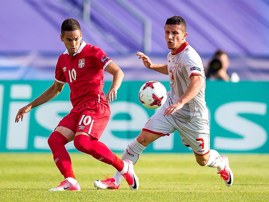 Euro sub-21: Zivkovic em destaque no empate da Sérvia