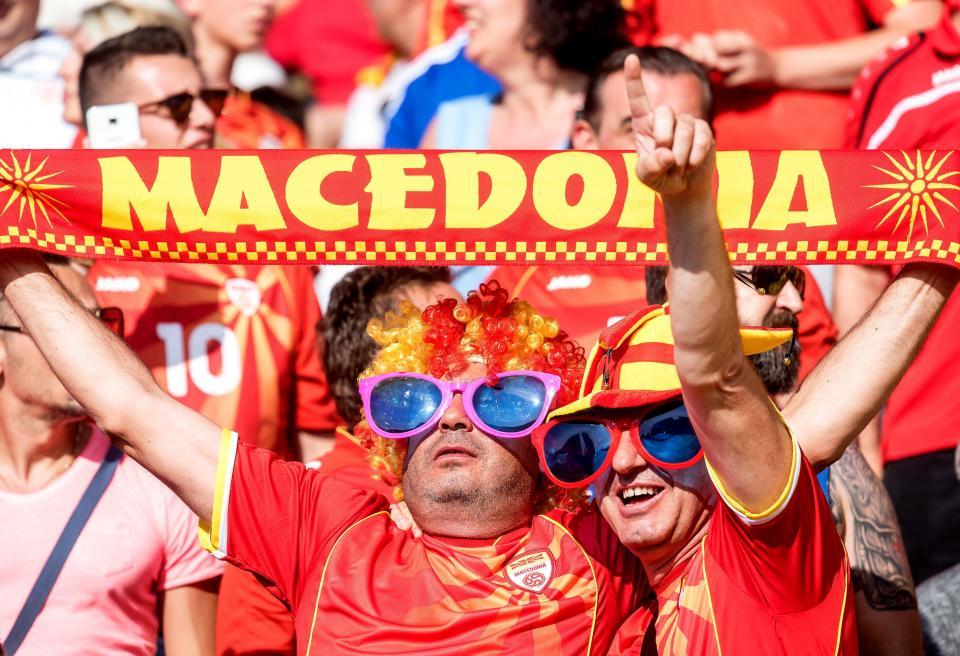 Ristovski joga 13 minutos na vitória da Macedónia