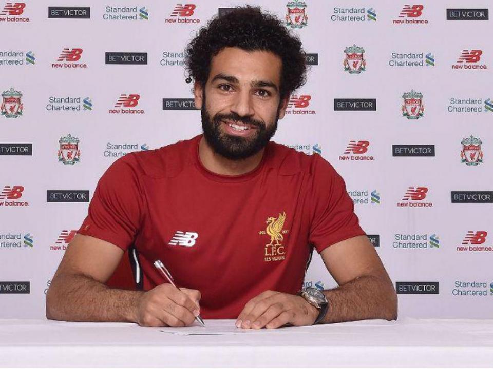 Premier League: Salah vence prémio de jogador do mês pela quarta vez