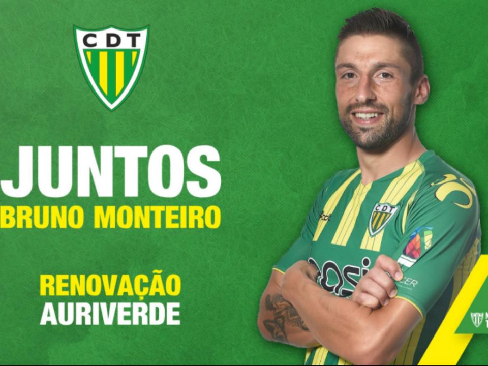 OFICIAL: Tondela renova com Bruno Monteiro