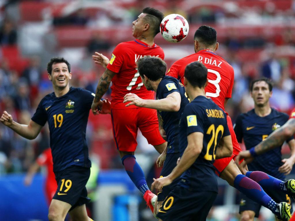 Portugal vai defrontar o Chile na Taça das Confederações