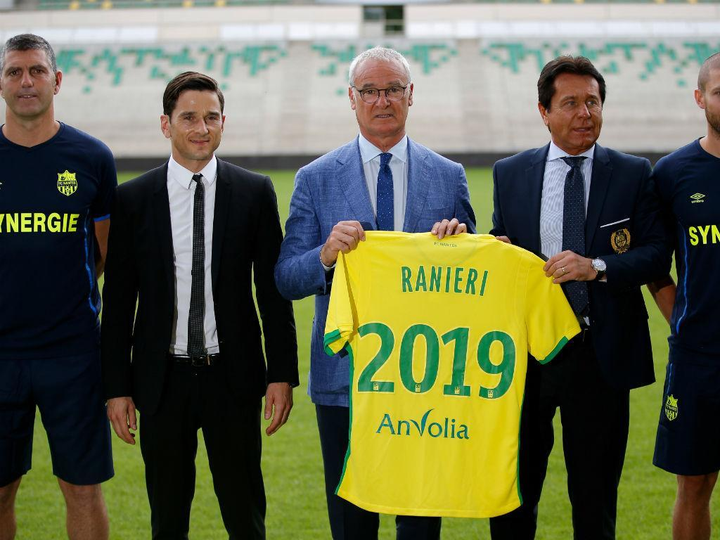 Ranieri: «Se Itália me chamasse, pedia para sair do Nantes»