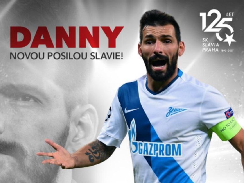 Rep. Checa: Slávia Praga empata com Danny e fica mais longe do líder